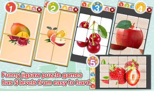 Fruits Flashcards V2 PRO Screenshot