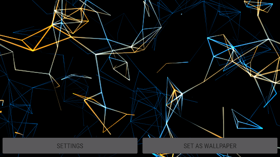 [Neon Particles 3D Live Wallpaper] Screenshot 19