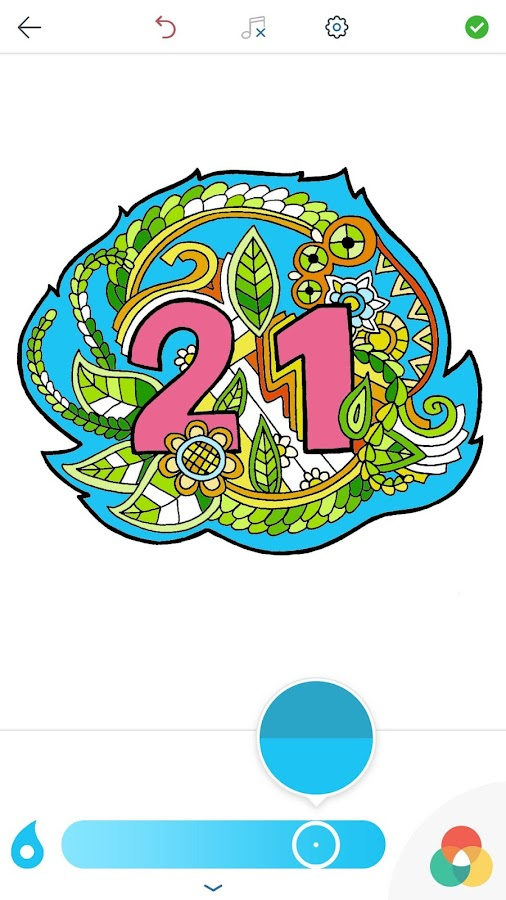 Numbers Coloring Pages- screenshot