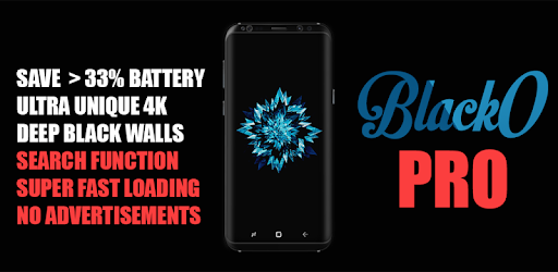 BlackO PRO Dark Wallpapers Apps para Android screenshot