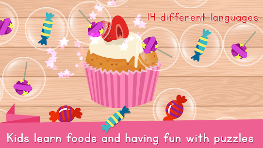 Food Puzzle for Kids: Preschool 5