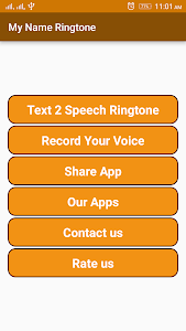 Name & Audio Ringtone Maker screenshot 0