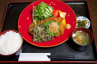 黒千石納豆とんかつ定食:山森和樹のんまいものシリーズ