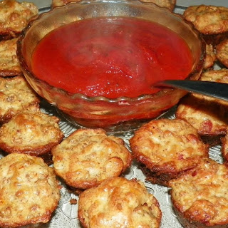 Pizza Puffs Trim Healthy Mama Style.