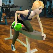Virtual Gym Girl Yoga Fitness Simulator