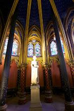 Photo: The lower chapel at Sainte Chappelle