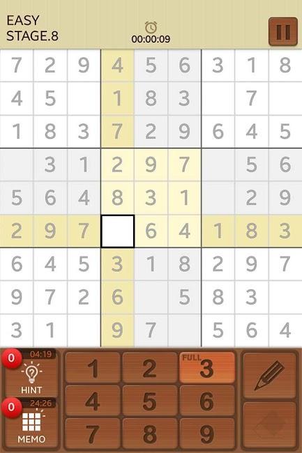 #1. Sudoku Mania (Android)