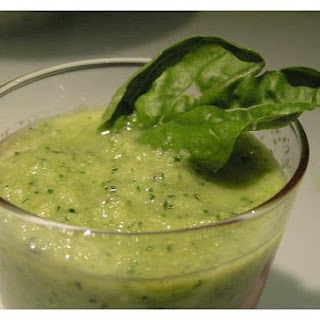 Melon and Cucumber Soup