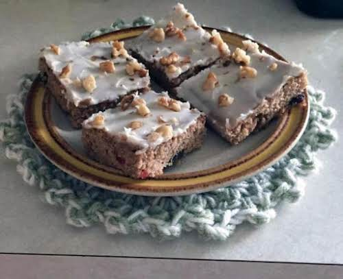 """Grandma's Fruit Bars """"This is a fairly quick pan cookie to make...."""