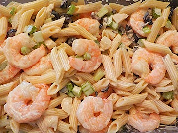 Pasta & Shrimp Salad Recipe