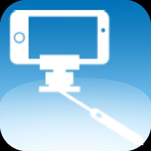 线控自拍棒-支援HTC相机(免设定) 自拍杆 自拍神器 攝影 App LOGO-APP開箱王