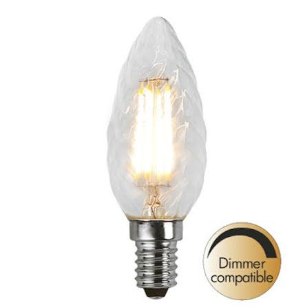 LED kronljus Vriden Filament Dimbar 400lm