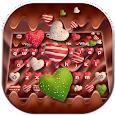 Colorful Heart Chocolate Keyboard