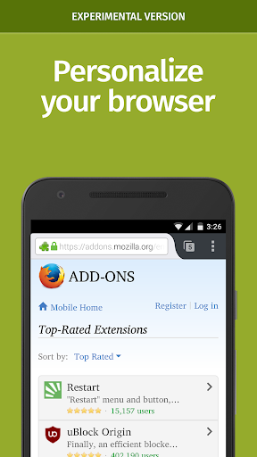 Firefox Nightly for Developers screenshot 2
