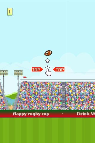 Flappy Rugby Coupe 2015
