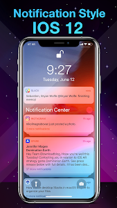 Download Phone X Launcher, OS 12 iLauncher & Control Center APK