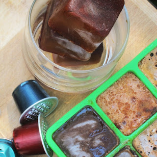 Cinnamon and Vanilla Infused Coffee Ice Cubes Recipe