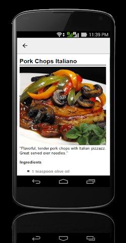 android Pork Chop Recipes ! Screenshot 3