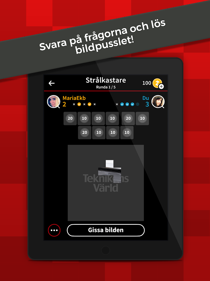 Teknikens Värld Quizima- screenshot