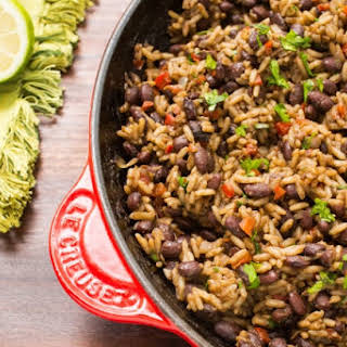 Gallo Pinto (Costa Rican Beans and Rice).
