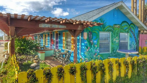 Spend The Night At This Colorful Beachside Bungalow, Si Como No Inn In Florida