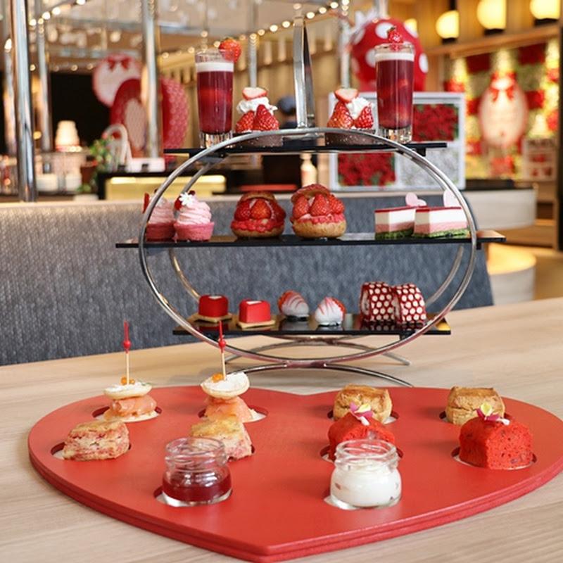 ヒルトン名古屋「ストロベリー・スイートハート」で旬のいちごアフタヌーンティーセットを楽しもう