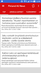 Finland All News (Suomen uutisia) - náhled