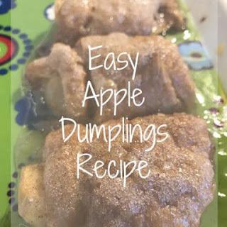 Apple Dumplings – Delicious Dessert the Family will Devour.