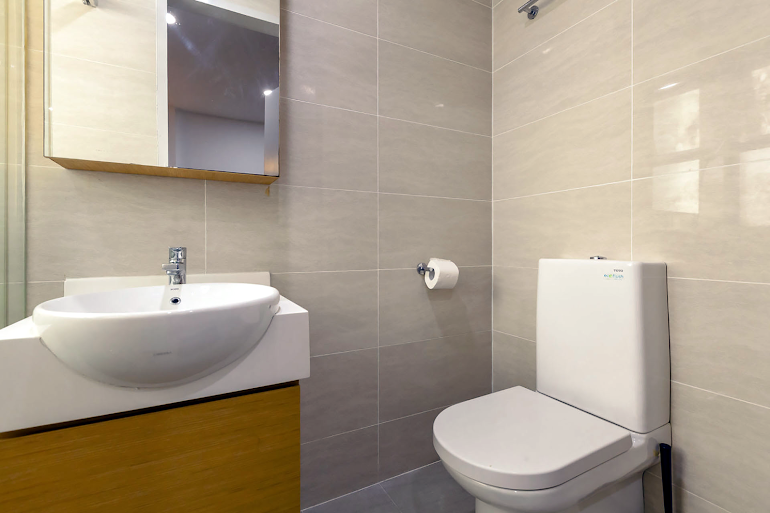 Bathroom at Sims Avenue Serviced Residence, Orchard Road