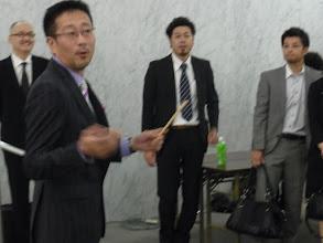 Photo: 張り切る高田実行委員長