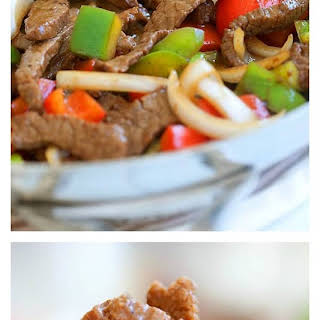 Beef Stir-Fry with Peppers.