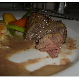 Steak Au Gratin
