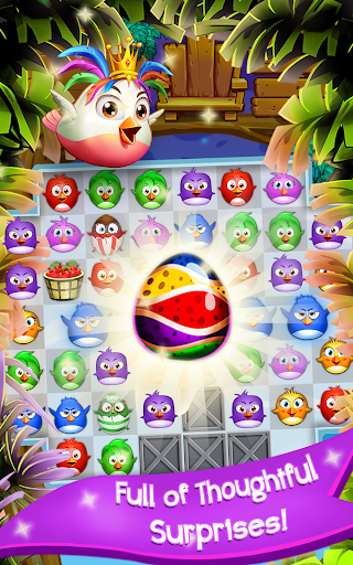 Birds Pop Mania: Match 3 Game  screenshots 1