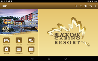 Screenshot of Black Oak Casino Resort