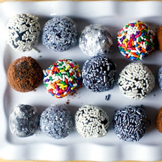 Fudgy Bourbon Balls