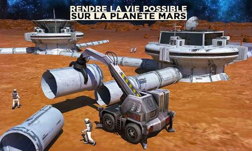 Espace Ville Construction Simulateur Planète Mars  captures d'écran 1