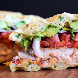 Mexicali Jalapeño Cheddar Bacon Waffle Sandwiches