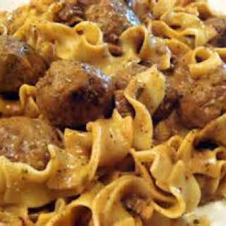 Swedish Meatballs (Weight Watchers).