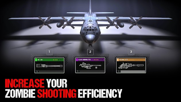 Zombie Gunship Survival APK screenshot thumbnail 1