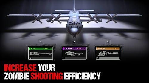 Screenshot 1 Zombie Gunship Survival 1.3.7 APK+DATA MOD