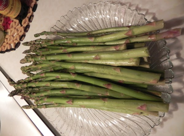 Prepare your asparagus