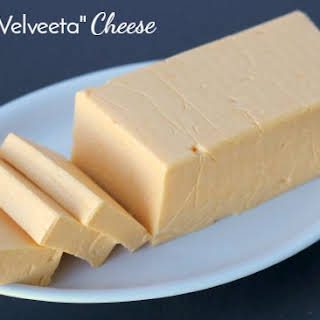 Homemade Velveeta Cheese.
