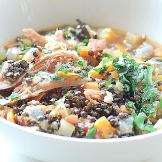 Lentil Soup with Smoked Ham Hock Recipe