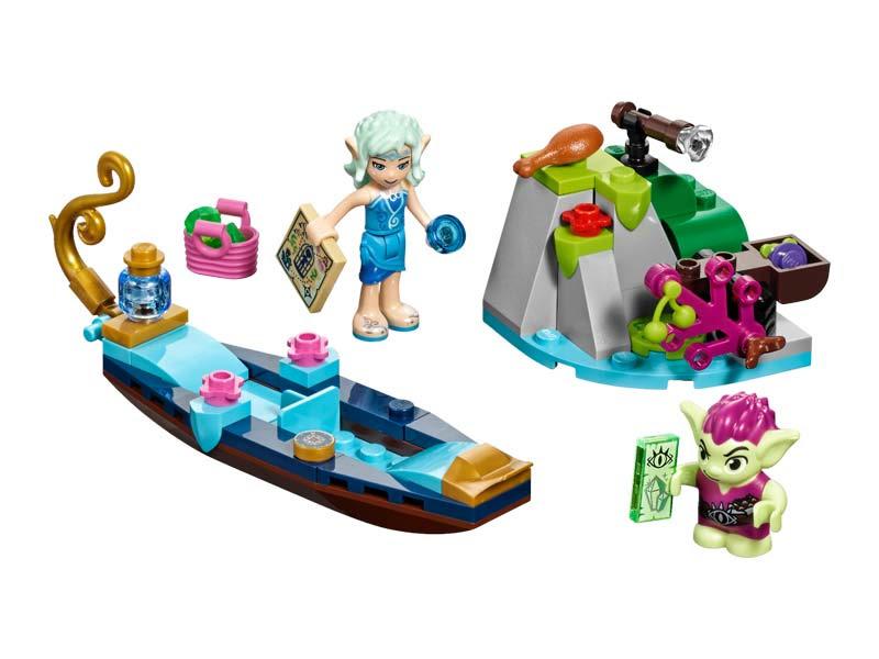 Contenido de Lego® 41181 Góndola de Naida y el Duende Ladrón