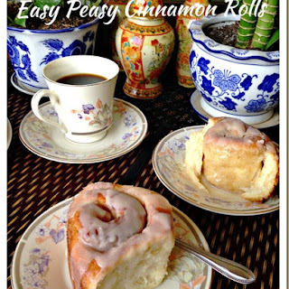 Easy Peasy Cinnamon Rolls (简易肉桂面包卷).