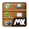 MXHome Theme Bookshelf icon