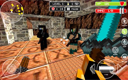 Block Mortal Survival Battle screenshot 13
