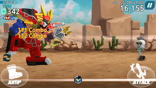Power Rangers Dash 1.6.4 screenshots 6