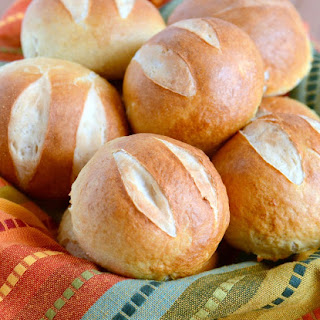 Soft and Chewy Pretzel Rolls.