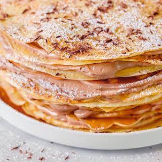 How To Make Nutella Crêpe Cake.